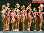 WPW321 - 1997 Jan Tana - USA and Nationals Fitness Contests- (150 minutes) - Barbara Moran, Charlene Rink, Summer Kalish, Amy Blee, Minna Lessig, early Lindsay Mulinazzi, Sheena Forkner , Lisa Lowe, Mary Conradson/Yockey, Jennifer Hendershott and many oth