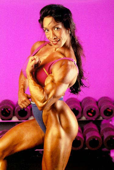 Rm154 Muscle Posing Only Featuring Denise Masino