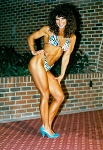 WPWFV05 - Four Muscle Beach fitness women posing - Kathy Sherron, Theresa Magarian, Mary Gordon and Starr Jackson - (114 minutes) - Video Download